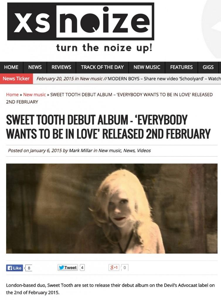 XS Noize_albm & gig post_Feb 2015